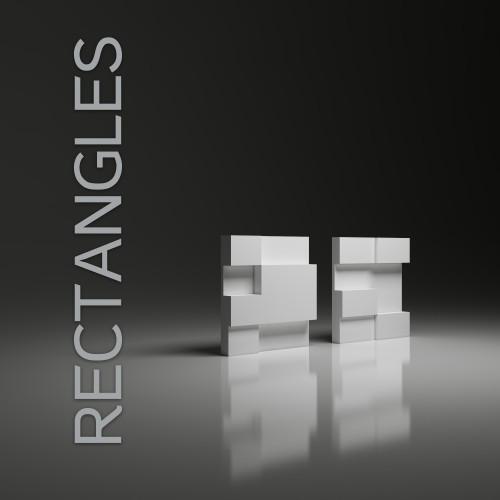Rectangles 30x30 Panel Dekoracyjny 3d Dunes