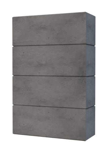 Bloczek Ogrodzeniowy Betonowy 80x25x40 Slabb