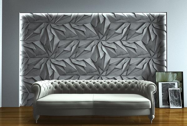 Zicaro Panel Dekoracyjny 3d Xelia Imitacja Betonu Architektonicznego
