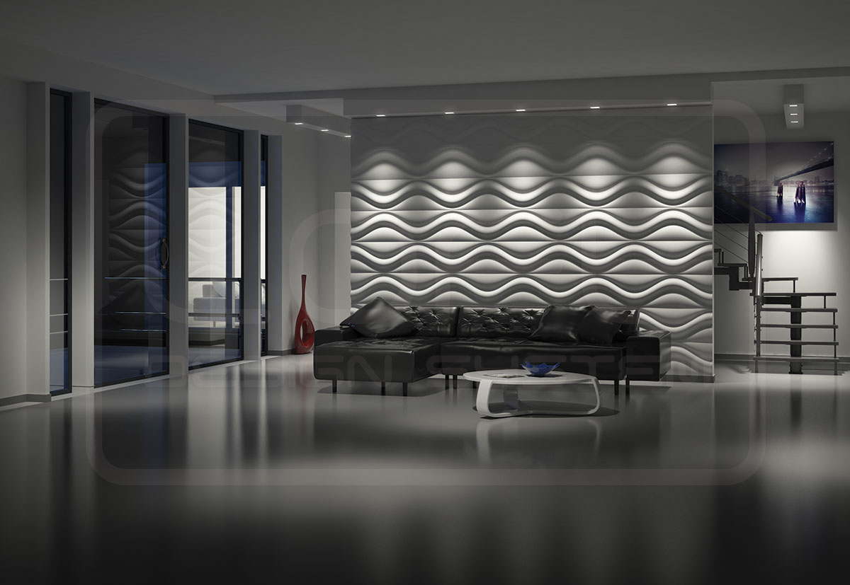 Panel Dekoracyjny 3d Hourglass Model 17 Loft System