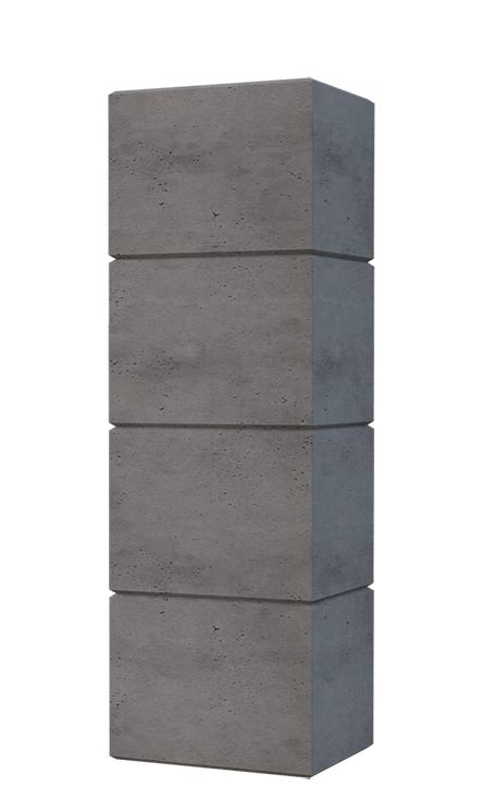 Bloczek Ogrodzeniowy Betonowy 40x25x40 Slabb